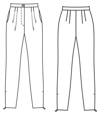 Elegant  Pants Flat Sketch On Pinterest  Flats Fashion Flats And Women39s