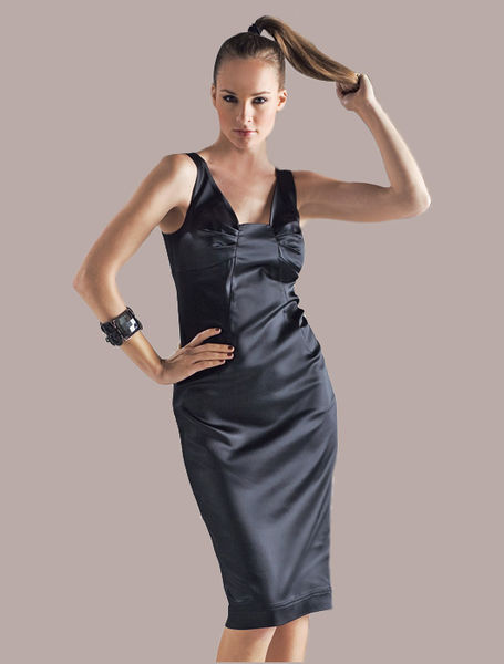 Burda 11 2008 dress 135 black