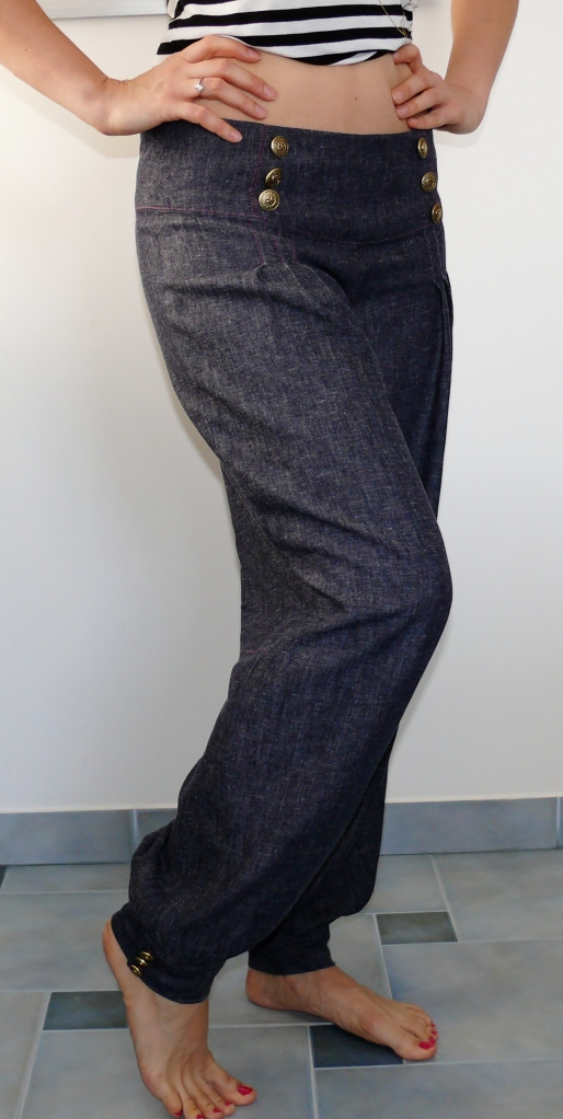 Patrones pants bombacho